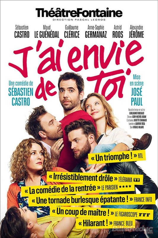 """Soirée Tapas & Théâtre : """"J'ai envie de toi"""""""